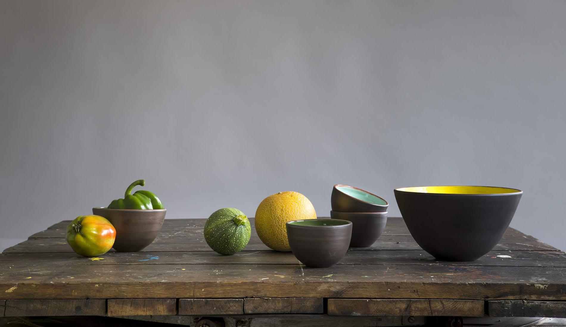 Photo : Maison Cassar - Composition de céramique