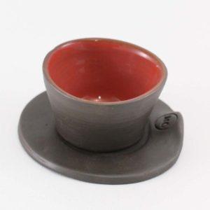 Maison Cassar - Tasse Rouge Céramique Artisanale Marseille